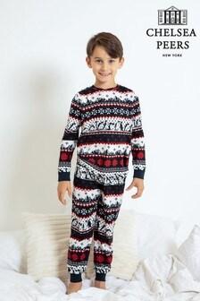 Chelsea Peers Penguin Christmas Family PJ Set Kids