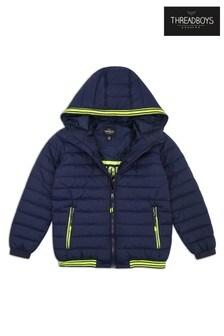 Threadboys Hooded Zip Through Jacket
