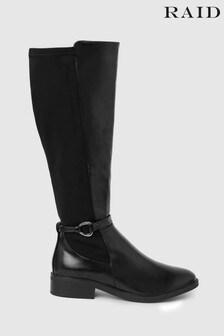 Raid Knee High Riding Boot