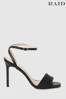 Raid Stiletto Heeled Open Sandal with Quilted Upper