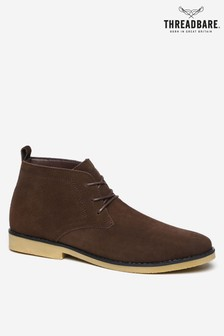 Threadbare Shoes Desert Boot Faux Suede