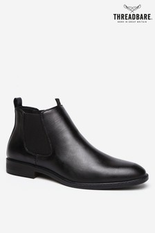Threadbare Faux Leather Chelsea Boot