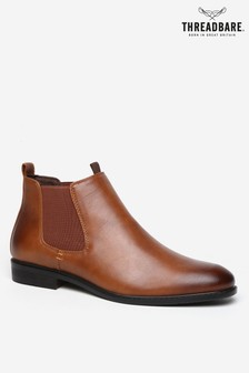 Threadbare Faux Leather Chelsea Boot