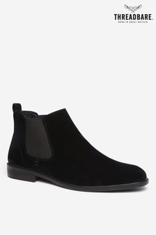 Threadbare Shoes Chelsea Boot Faux Suede