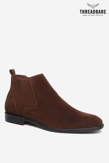 Threadbare Faux Suede Chelsea Boot