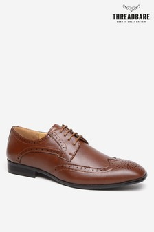 Threadbare Faux Leather Brogues