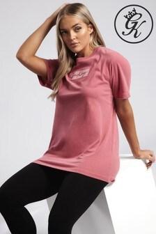 חולצת טי בויפרנד של Gym King דגם Glow