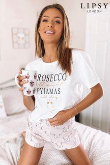 Пижамный комплект с шортами Lipsy
