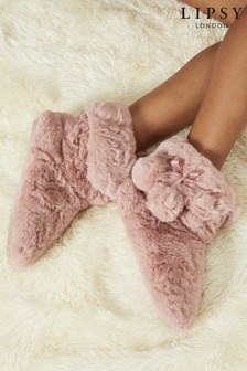 Lipsy Girl Bootie Slipper