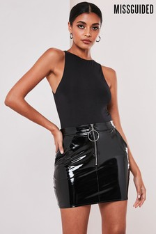 Missguided Seam Free Racer Neck Bodysuit