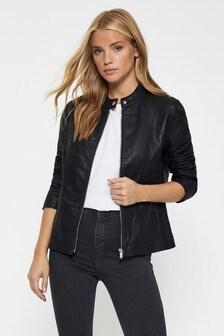 JDY Faux Leather Jacket