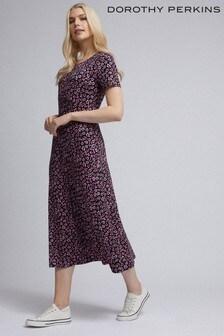 Dorothy Perkins Floral Empire Midi Dress
