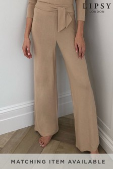 Lipsy Lounge-Hose mit weitem Bein