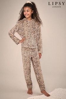 Lipsy Fleece Twosie Pyjama