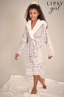 Lipsy Borg Lined Fleece Robe