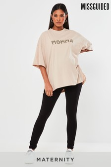 Missguided Maternity Legging With Waistband