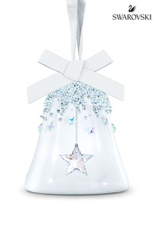 Swarovski Small Star Bell Ornament Bauble