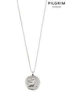 Pilgrim Virgo Zodiac Sign Silver Plated Necklace