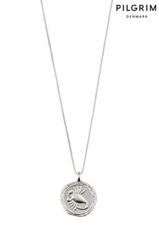 Pilgrim Scorpio Zodiac Sign Silver Plated Necklace