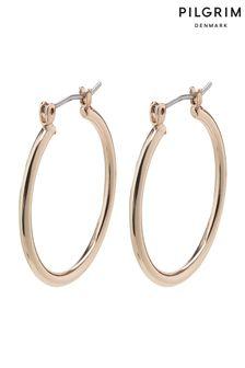 PILGRIM Layla Creole Hoop Plated Earrings