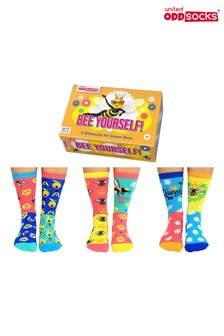 United Oddsocks Bee Yourself Socks
