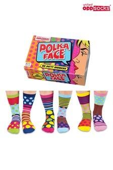 United Oddsocks Polka Face Socks