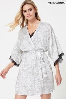 Vero Moda Lace Trim Robe