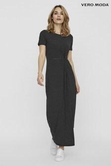 Vero Moda Short Sleeve Maxi Dress