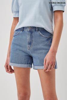 Vero Moda Turn Up Denim Shorts