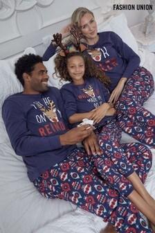Fashion Union家庭裝配搭聖誕睡衣