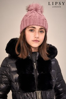 Lipsy Girl Cable Hat