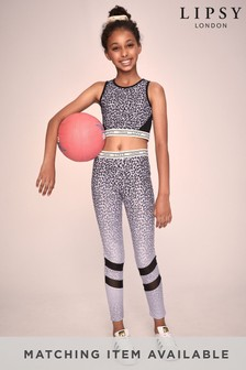 Lipsy Mesh Panel Active Leggings
