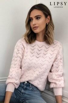 Lipsy Lofty Pointelle-Pullover