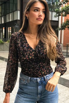 Lipsy Ruched Top