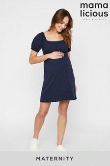 Mamalicious - Zwangerschap - Korte jersey jurk