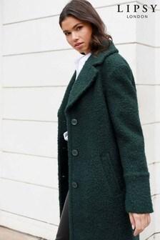 Lipsy Boucle Textured Coat