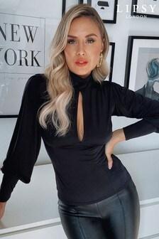 Bluză Lipsy cu guler înalt