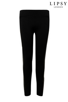 Lipsy Studded Diamante Leggings