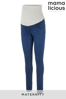 Mamalicious Maternity Under The Bump Skinny Jeans