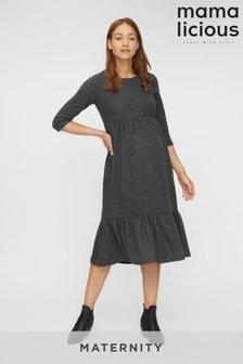 Mamalicious Maternity Jersey Maxi Smock Dress