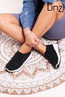 حذاء رياضي منسوج سهل اللبسAmbitious منLinzi