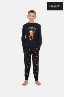 Threadboys Christmas Jersey Pyjama Set