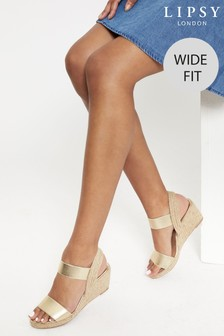 Lipsy Elastic Low Wedge
