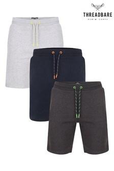 מארז3 זוגות מכנסי פליז קצרים שלThreadbare