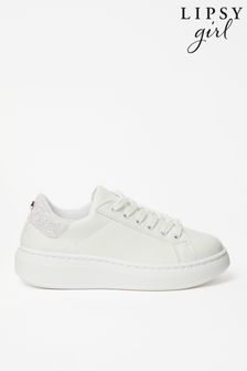 Lipsy Lace Up Flatform Trainer (Older)