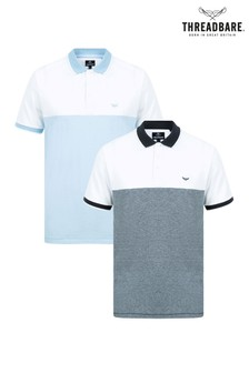 Threadbare Polo T-Shirt- Pack Of 2
