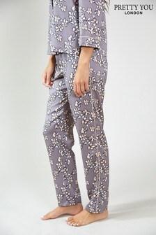 Pretty You London Floral Print Pyjama Trousers