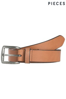 Pieces Leather Belt