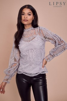 Lipsy Embroidered Blouse