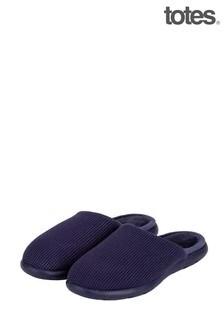 נעלי בית בצורת כפכףשל Totes IsotonerסולייתI Flex דגם Waffle